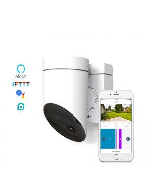 Somfy Außenkamera in der Farbe Weiß
